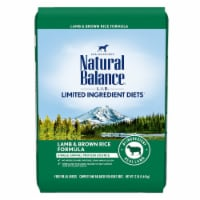 Natural Balance Pet Foods NA77393 26 lbs Lamb Brnrice Dry Dog Food