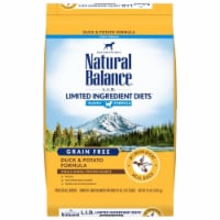 Natural Balance Pet Foods NA77774 LID Potato & Duck Puppy Dry Dog Food, 24 lbs - 1
