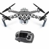 MightySkins DJMAVPRO-Black Aztec Skin Decal Wrap for DJI Mavic Pro Quadcopter Drone Cover Sti