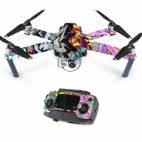 MightySkins DJMAVPRO-Graffiti Wild Styles Skin Decal Wrap for DJI Mavic Pro Quadcopter Drone - 1