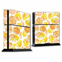MightySkins SOPS4-Yellow Petals Skin for Sony Playstation 4 PS4 Console Wrap Sticker - Yellow
