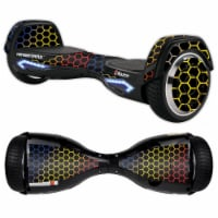 MightySkins RAHOV2-Primary Honeycomb Skin Decal Wrap for Razor Hovertrax 2.0 Hover Board - Pr - 1