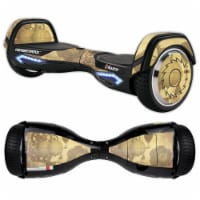 MightySkins RAHOV2-Steam Punk Paper Skin Decal Wrap for Razor Hovertrax 2.0 Hover Board - Ste - 1