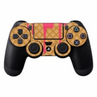 Mightyskins SOPS4CO-Ice Cream Cone Skin Decal Wrap for Dualshock PS4 Controller - Ice Cream C - 1