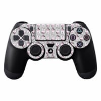 MightySkins SOPS4CO-Pink Galaxy Bots Skin Decal Wrap for Dualshock PS4 Controller - Pink Gala