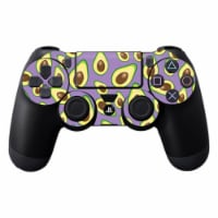 MightySkins SOPS4CO-Purple Avocados Skin Decal Wrap for Dualshock PS4 Controller - Purple Avo - 1