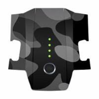 MightySkins DJMAVBAT-Black Camo Skin Decal Wrap for DJI Mavic Pro Battery Sticker - Black Cam - 1