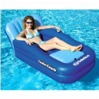 Swimline Solstice 15181SF Swimming Pool Inflatable Float Cooler Couch Lounge - 1 Unit
