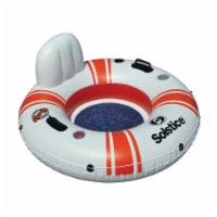 Swimline 17001 Super Chill Vinyl with Nylon Mesh Single Seat Tube Pool Float