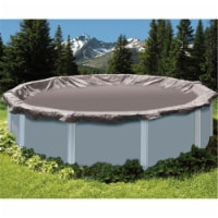 Swimline Winter Swimming Pool Cover for 18-Foot Round Above Ground Frame, Black