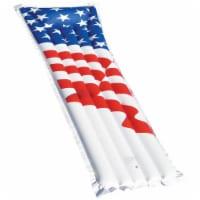 "Swimline 72"" Inflatable American Flag Swimming Pool and Lake Float Raft   90176"