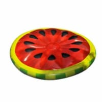 Swimline 90544 Inflatable Watermelon Slice Lake Ocean Island Swimming Pool Float