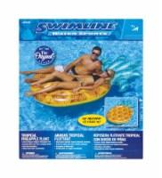 Swimline Yellow Vinyl Inflatable Pineapple Pool Float - Case Of: 1;