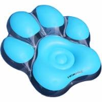 Swimline 90746 Inflatable Pawprint Island Summer Pool Float for Children, Blue