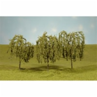 N Scale 2.25-2.5 in. Willow Trees - 4 Piece