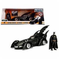 1 isto 24 1995 Batman Forever Batmobile with Diecast Batman Figure Model Car