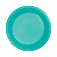 Group  Teal Lagoon Prem Plastic Dinner Plates, Pack of 12 - 20 Per Pack