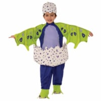 Small & Medium Draggles Hatchimal Costume, Dark Purple - 3T-4T