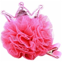 Princess Puff Clip-on, Bright Pink