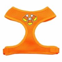 Candy Corn Design Soft Mesh Harnesses Orange Medium - 1