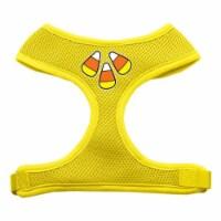 Candy Corn Design Soft Mesh Harnesses Yellow Medium