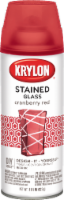 Krylon® Stained Glass Spray Paint - Cranberry Red - 11.5 oz