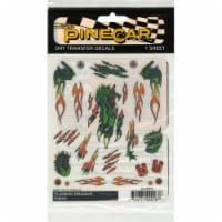 Pine-Car PINP4018 Flaming Dragon Transfer