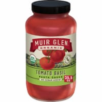 Muir Glen Organic No Sugar Added Tomato Basil Pasta Sauce