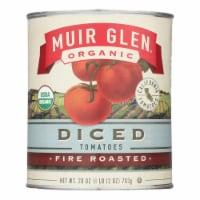 Muir Glen Organic Diced Fire Roasted Tomato - Tomato - Case of 12 - 28 oz. - 28 OZ