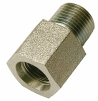 Apache Steel 3/8 in. Dia. x 3/8 in. Dia. Hydraulic Adapter 1 - Case Of: 1; - Count of: 1