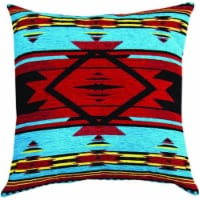 Manual Woodworkers & Weavers APFBRT 26 in. Flame Bright Tapestry Throw Pillow