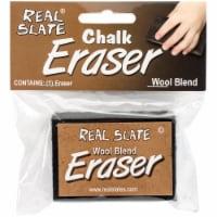 Real Slate Felt Chalk Eraser 2 X3 X.875 - - 1