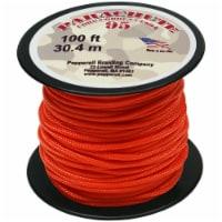 Parachute Cord 1.9mmX100'-Neon Orange - 1
