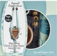 Pepperell Braiding Designer Series Terra Cotta Macrame Plant Hanger Kit - 1 ct