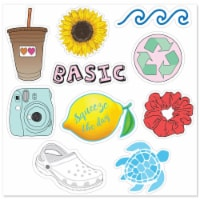 MightySkins D-VSGO5 Nature Lover Cute Stickers for Water Bottles & Laptops, VSGO 5 Girl - Pac