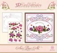 Ann\'s Paper Art - Embroidery pattern-Garden Enchantment - 1