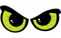 Impact Innovations Prelit Shimmer Eyes Halloween Decor - Case Of: 6; Each Pack Qty: 1; - Case of: 6
