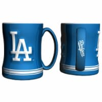 Los Angeles Dodgers Coffee Mug - 14oz Sculpted Relief