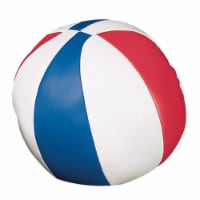7 in. Soft Sport Basketball, Red & White & Royal