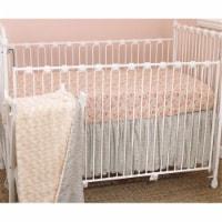 Tea Party 3 Piece Crib Bedding Set - 3