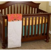 Gypsy 3 Piece Crib Bedding Set - 3