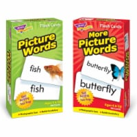 Picture Words Flash Cards Assorter Skill Drill