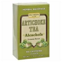 Only Natural Artichoke Tea Caffeine Free Lemon - 20 Tea Bags