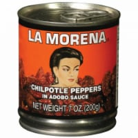 La Morena Chilpolte Peppers in Adobo Sauce
