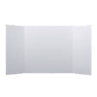 28 x 40 1 Ply White Project Board Bulk Pack of 18 - 28 x 40
