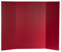 36 x 48 1 Ply Red Project Board Bulk Pack of 24 - 36 x 48
