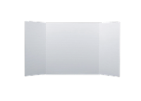 14 x 40 1 Ply White Project Board Bulk Pack of 48 - 14 x 40