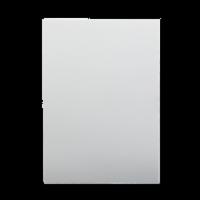 20 x 30 3/16 White Foam Board Bulk Pack of 25 - 20 x 30