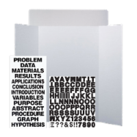 36 x 48 Project Board Kit Retail Pack of 10 - 36 x 48