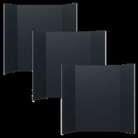36 x 48 Black Foam Project Board Pack of 3 - 36 x 48